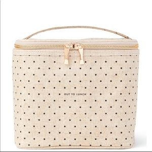 """NWOT Kate Spade """"Out to Lunch"""" lunch box"""